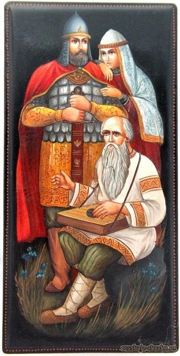 читать сказки, приучение детей к чтению русских сказок, крупный шрифт, много иллюстраций русских художников