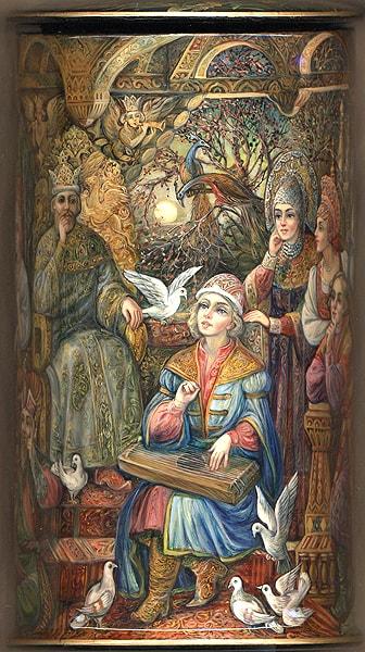 В свете ж вот какое чудо, очень популярная русская сказка Александра Сергеевича Пушкина о царе Салтане с большим количеством красивых красочных картинок для ребят