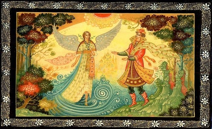 Говорят, царевна есть, Что не можно глаз отвесть, русский язык и литература Пушкин А.С., сказки, детская литература