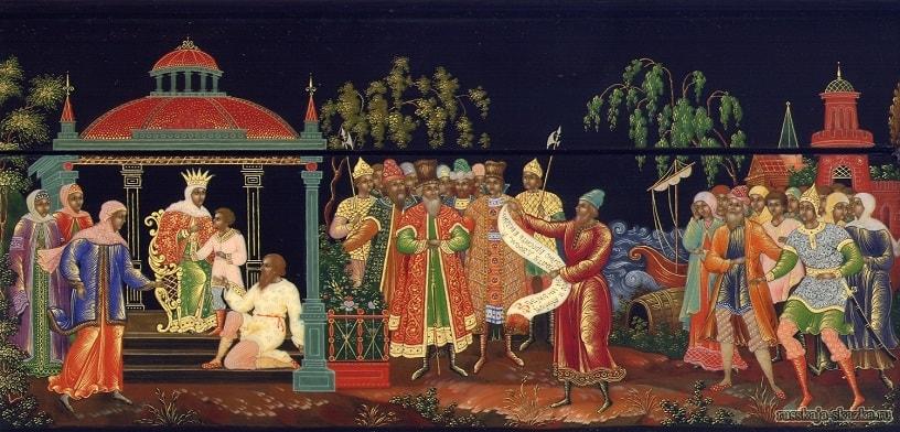 письмо от царя Салтана, сказки русских писателей , большой выбор разных сказок для чтения и просмотра, также можно прослушать аудиосказки, аудиокниги