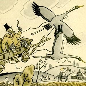 Чего на свете не бывает, читать русскую народную сказку про барина и мужика онлайн