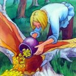 Дурак и береза, русская народная сказка читать с картинкой книга для детей крупный шрифт онлайн бесплатно детская литература