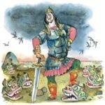 Иван - коровий сын русская народная сказка для детей читать крупный шрифт картинка онлайн