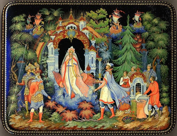 сказка о царе Салтане, автор сказки о царе Салтане Александр Сергеевич Пушкин гений русской словесности, это одна из лучших его сказок