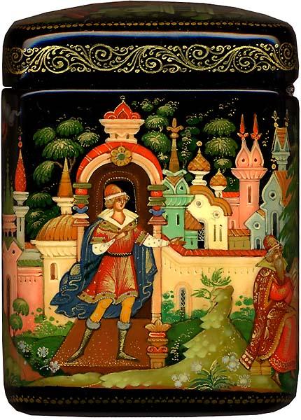 князь Гвидон, русские народные промыслы, яркие снимки, фотографии, красивые картинки с сюжетами сказки Пушкина о царе Салтане