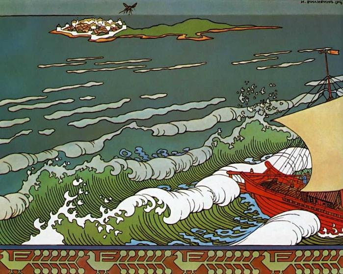 князь Гвидон превратился в комара, сказки русских писателей , большой выбор разных сказок для чтения и просмотра, также можно прослушать аудиосказки, аудиокниги