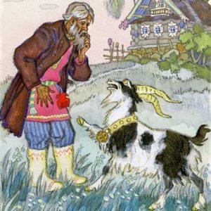 Коза-дереза русская народная сказка читать онлайн картинка для детей