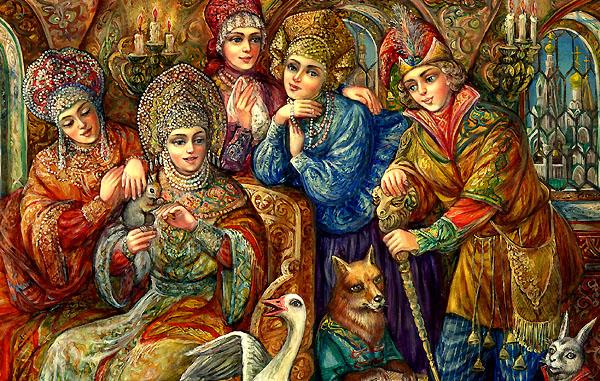 Русская сказка о Кузьме и лисе читаем текст или слушаем аудиозапись