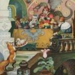 Кузьма Скоробогатый русская народная сказка картинка читать онлай для детей книга школа детский сад онлайн бесплатно крупный шрифт на ночь