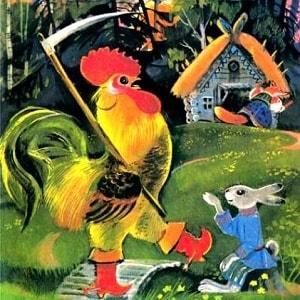 Лиса и заяц русская народная сказка читать онлайн книжка для детей бесплатно крупный шрифт детская литература