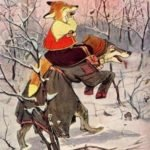 Лисичка-сестричка и волк читать русскую народную сказку с картинками онлайн для детей текст полностью