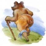 Медведь - липовая нога читать русскую народную сказку картинка онлайн книга детская крупный шрифт