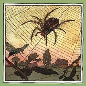 Мизгирь читать русскую народную сказку о пауке онлайн бесплатно крупный шрифт книга полностью