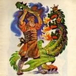 Никита Кожемяка читать русская народная сказка онлайн крупный шрифт