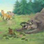 Овца, лиса и волк русская народная сказка картинка читать бесплатно онлайн для детей