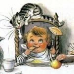 Барабек, читать детские стихи онлайн, Чуковский Корней Иванович, картинки Владимир Сутеев
