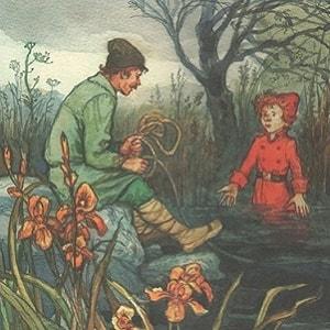 Шабарша, русская народная сказка для детей, читать онлайн бесплатно крупный шрифт