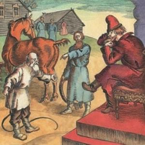 Шемякин суд, читать сказку для детей онлайн бесплатно книга