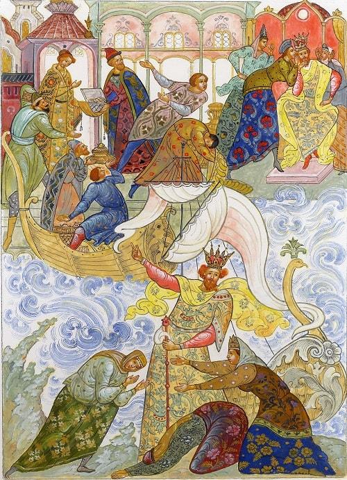 Что я? царь или дитя? , произведения великого русского поэта Пушкина для детей читать с картинками