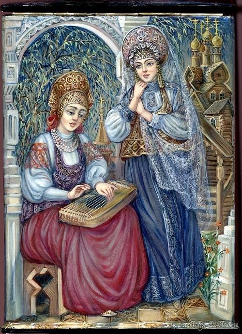 Сказка о царе Салтане, Пушкин, детям легко читать сказку о царе Салтане, когда в ней много картинок и крупный шрифт текста