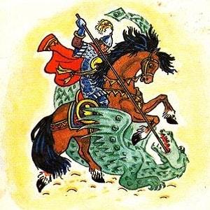 Сказка о славном, могучем богатыре Еруслане Лазаревиче для детей читать книжку онлайн с картинками крупный шрифт бесплатно