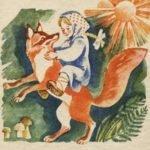 Снегурушка и лиса русская сказка для детей читать онлайн с картинками весь текст книги