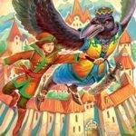 Три царства — медное, серебряное и золотое