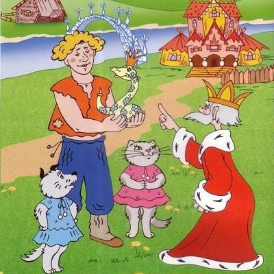 Волшебное кольцо русская народная сказка читать для детей иллюстрация