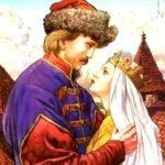 Заколдованная королевна, русская народная сказка читать онлайн для детей иллюстрация бесплатно