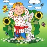 Заяц, русская народная сказка читать онлайн книга крупный шрифт для детей с картинкой
