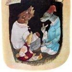 Звери в яме русская народная сказка крупный шрифт картинка читать онлайн бесплатно