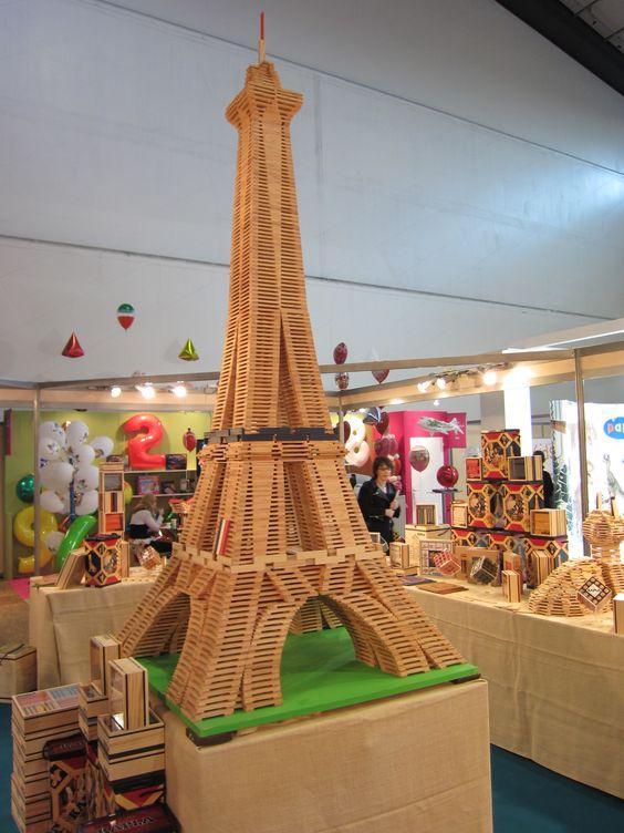 башня из деталей конструктора Триго