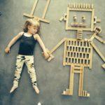 Детский деревянный конструктор в подарок