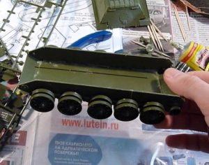Сборные модели танков. Пластмассовый конструктор для детей