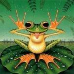 Сказка про лягушку, аудиосказка (1988)