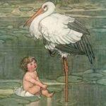 Аисты, Андерсен Г.Х, читать сказку онлайн бесплатно про детей и аистов с крупным шрифтом онлайн книга