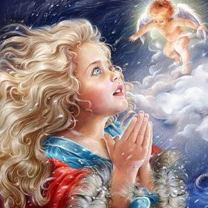 Ангел, Андерсен Г.Х, читать сказку онлайн бесплатно книга для детей с картинкой