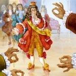 Новое платье короля, Г.Х.Андерсен, читать сказку онлайн с крупным шрифтом и картинкой книга для детей бесплатно