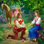 Волшебница сказка Шарль Перро для детей картинка читать бесплатно онлайн