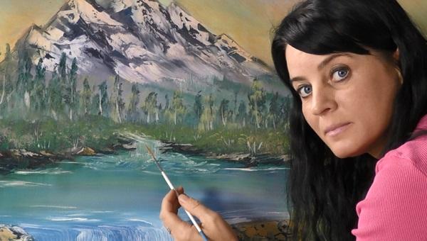 Творческое развитие рисуем красками