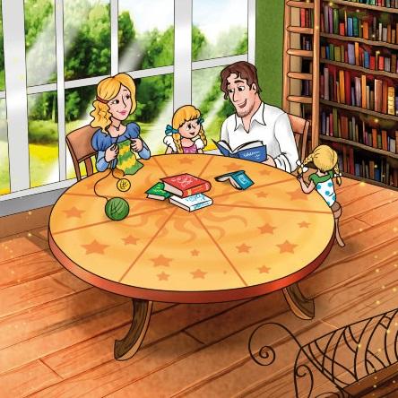 мы любим сказки семья дети книги