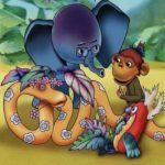 38 попугаев, мультфильм, все серии детския сказки Григорий Остер про попугая,удава, слонёнка и мартышку смотреть онлайн бесплатно