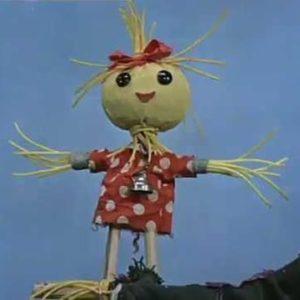Аистенок и Пугало, мультфильм (1970) кукольный детская сказка