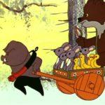 Басни Сергея Михалкова, мультфильм (1975) Петух в гостях Кабан Хомут детские сказки поучительные