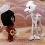 Белый верблюжонок, мультфильм (1974) кукольные мультики сказки для детей