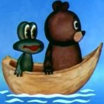 Далеко, далеко на юге, мультфильм (1982) про лягушонка и медвежонка сказка онлайн