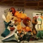 Девочка и дракон, мультфильм (1983) сказка автор Дональд Биссет читает сказку детям артист Алексей Баталов
