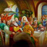 Еда из русских сказок праздничные вкусные блюда