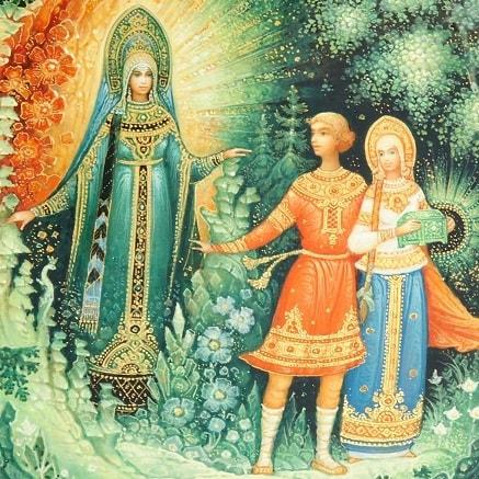 Хозяйка медной горы читайте сказку Бажова онлайн детская книга уральские сказы с картинкой