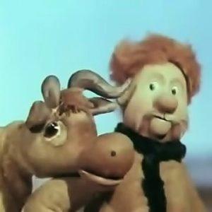 Как старик корову продавал, мультфильм (1980) стихотворение Сергея Михалкова смотрите онлайн кукольный мультик сказка